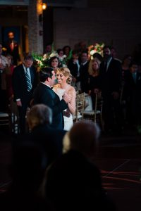 Bride and groom dance at Union Trust Philadelphia