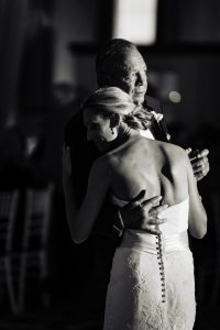 Father and bride dance at Vie Philadelphia