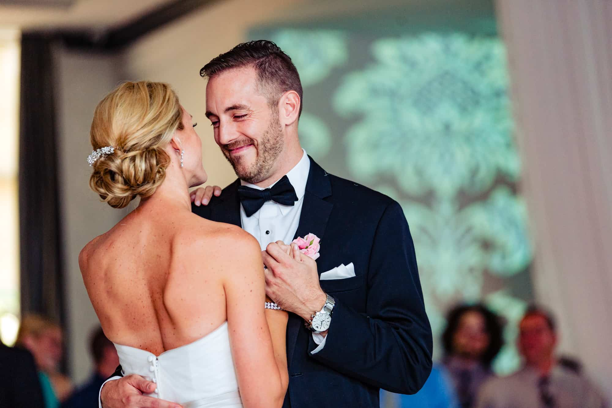Bride and groom first dance at Vie in Philadelphia