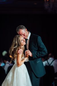 Bride and her father dancing at the Westin Hotel