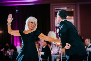 Groom and his mother dancing at the Westin Hotel