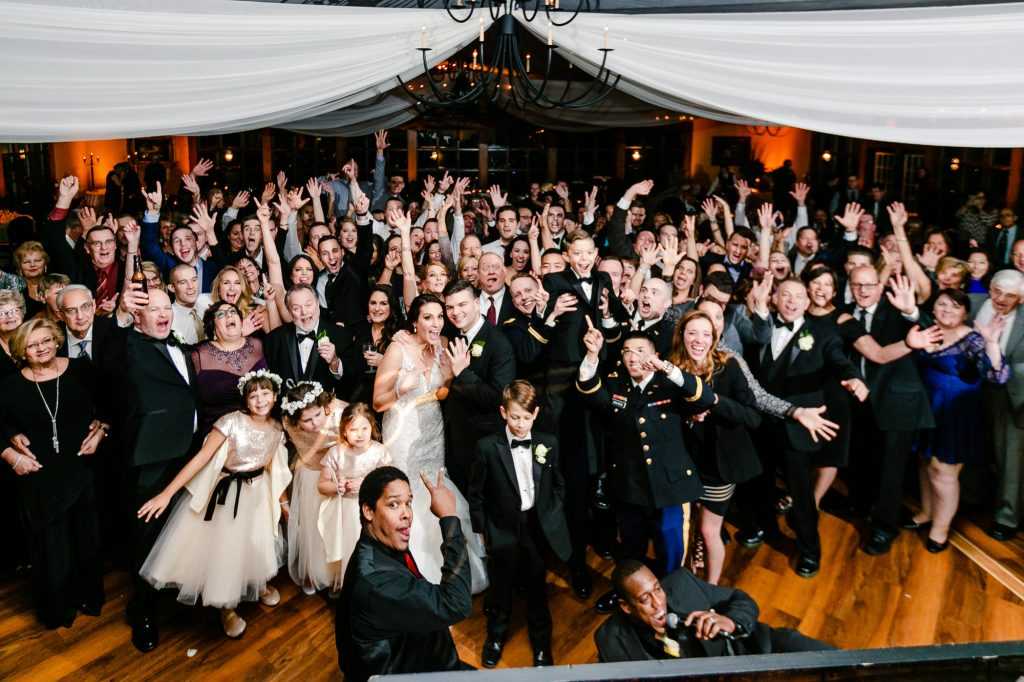 romatic-fall-wedding-bride-groom-with-guests