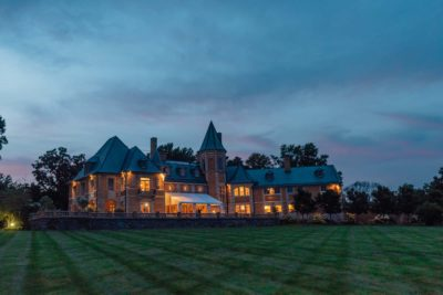 Image of Cairnwood Estate at night